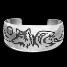 Wolf Bracelet Maiden Clan |  Metal Arts Group Jewelry | MAG10904