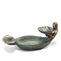 Mermaid and Shell Ring / Soap Dish | 34242 | SPI Home