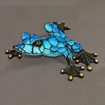 "Frog Bronze ""Alysa 36"" Sculpture 