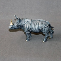 Rhino Bronze Sculpture | Barry Stein | BBSRHINOSMALL