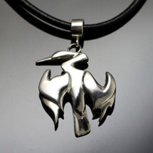 Anhinga Sterling Silver Necklace | Anisa Stewart Jewelry