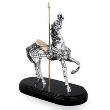 Silver Carousel Horse Sculpture | 7508 | D'Argenta