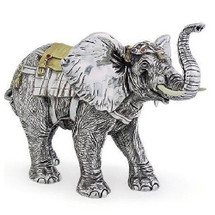Silver Elephant Limited Edition Sculpture | 7511 | D'Argenta