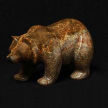 Bear Walking Stone Sculpture | Douglas Creek