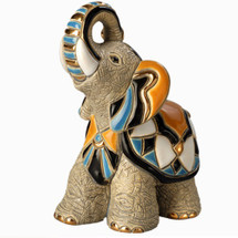 Asian Elephant Ceramic Figurine | De Rosa | Rinconada | DERF157