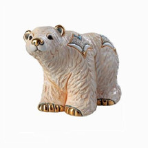 Arctic Polar Bear Ceramic Figurine | De Rosa | Rinconada
