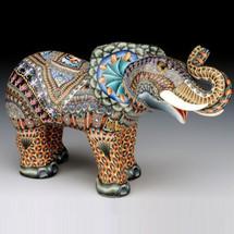 Elephant Papa Figurine | FimoCreations | FCfep