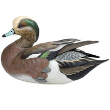 Weaver Bottoms American Widgeon Duck Sculpture | Loon Lake Decoy | 6538505506