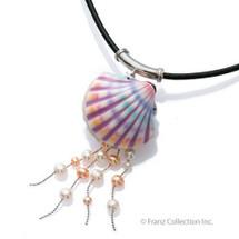 Shell Necklace | Franz Porcelain Jewelry | FJ00038