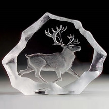 Reindeer LTD ED Crystal Sculpture | 33126 | Mats Jonasson Maleras -2