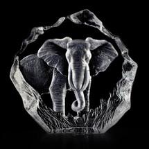 Elephant Crystal Sculpture | 33631 | Mats Jonasson Maleras