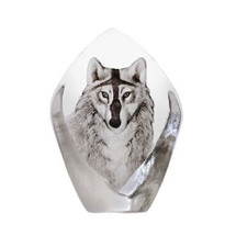 Wolf Crystal Sculpture