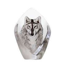 Wolf Crystal Sculpture | 33862 | Mats Jonasson Maleras