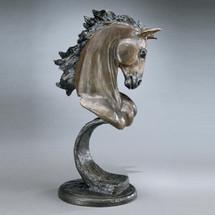 Stallion Bronze Horse Sculpture | Mark Hopkins | mhs081014