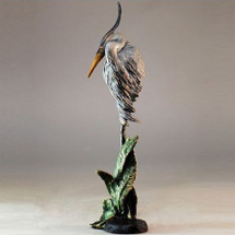 "Heron Sculpture ""Grace"" Small 