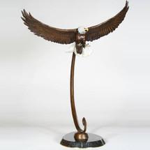 Eagle Bronze Sculpture | Scott Lennard