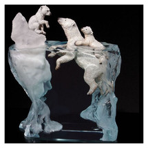 "Polar Bear Sculpture ""A Mother's Calling"" | Starlite Originals | SO3621"