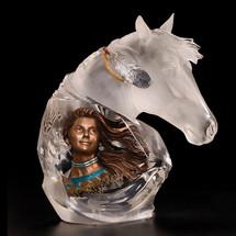 "Horse Sculpture ""Running Wind"" | Starlite Originals | SO8116"