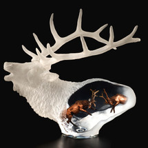 "Elk Sculpture ""Proud Spirit"" | Starlite Originals | SO8399"