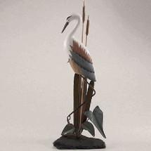 Heron Sculpture on Slate Base | TI Design | tiCW100
