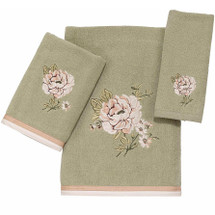 Floral Bath Towel Set Whitehall | AVA021001