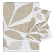 Shadow Leaves Towel Set | Creative Bath | CBTJ987BHW