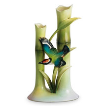 Bamboo Songbird Collection Bud Vase