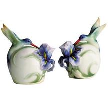 Hummingbird Salt Pepper Shakers | fz00597 | Franz Porcelain Collection -2