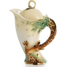 Giraffe Porcelain Teapot