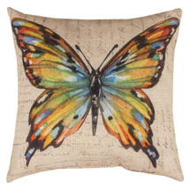 Butterfly Multicolor Indoor/Outdoor Pillow | Manual Woodworkers | SLBWMC-2