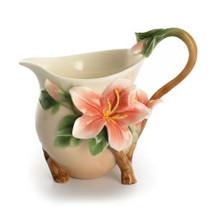 Azalea Allure Creamer | FZ01336 | Franz Porcelain Collection