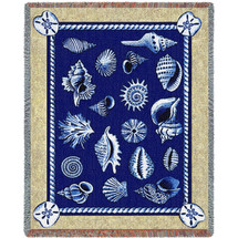 Shell Throw Blanket   Pure Country   PC2121-T