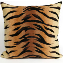 Tiger Print Indoor Outdoor Throw Pillow | Trans Ocean | TOG4085-19