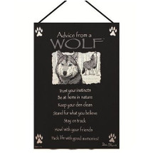 Wolf Wall Hanging | Manual Woodworkers | MWWHWAWLF