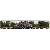 Zebra Wood Panel Wall Art | Mill Wood | MWZEB2L