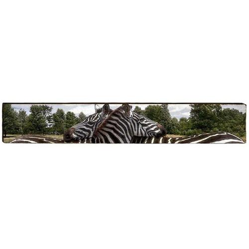 Zebra Wood Panel Wall Art | Mill Wood | MWZEB2L