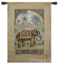 Old World Elephant I Tapestry Wall Hanging | Pure Country