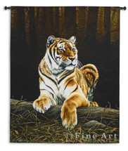 Grandeur Tiger Tapestry Wall Hanging | Pure Country