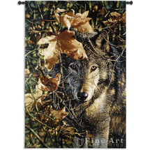 Wolf Tapestry Wall Hanging Autumn Eyes | Pure Country | PC6418WH