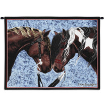 Warrior's Truce Horse Tapestry Wall Hanging | Pure Country | pc971WH