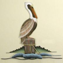 Lone Pelican Wall Sculpture   TI Design   tiCW104