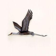 Sandhill Crane Wall Sculpture | TI Design | tiCW293