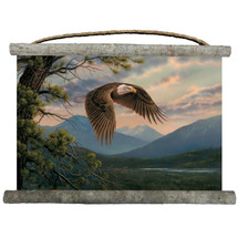 "Eagle Canvas Wall Hanging ""Majestic Moment"" 