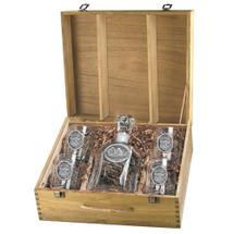 Buffalo Decanter Set | Heritage Pewter | HPICPTB101