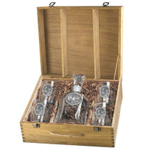 Moose Decanter Set | Heritage Pewter | HPICPTB103