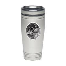 Elk Thermal Travel Mug | Heritage Pewter | HPITD203