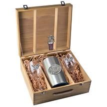 Hummingbird Wine Set | Heritage Pewter | HPIWSB134