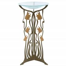 Fish Pedestal Birdbath | Cricket Forge | P007-G008