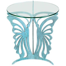 Butterfly Glasstop Table | Cricket Forge