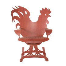 Rooster Rocking Chair | Cricket Forge